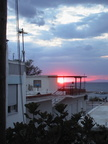 Last night on Samothraki Island; sunset by the ferry