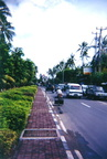 Street view (no salespeople!) at Kuta