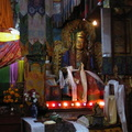 03808 Darjeeling: Inside the Yogachoeling Gompa at Ghoom