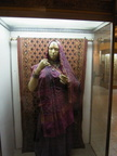 04304 Calcutta: Dummy wearing sari at the Indian Museum