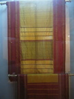 04309 Calcutta: Textile sample at the Indian Museum