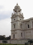 04507 Calcutta: Part of the front of the Victoria Memorial
