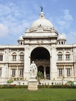 04505 Calcutta: Part of the back side of the Victoria Memorial